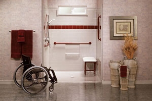 Disabled home remodel
